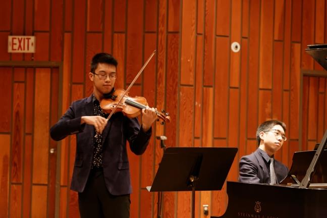 Kevin Ng (violin) & Brennan Chan (piano)